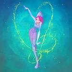 Tecna- Magic Winx by LadyShalirin