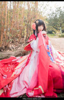 Onmyoji Cosplay 01 by eefai