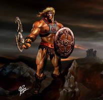 He-Man : Savage Beginings by planetbryan