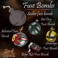 Sea of Thieves Fuse Bomb Fan Idea by Nyanbonecrush