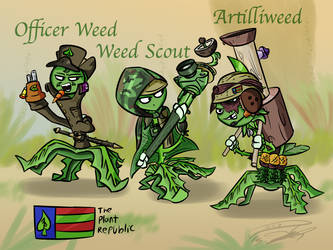 The Plant Republic Weeds of War, Part 2 by Nyanbonecrush
