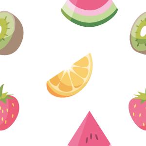 Fruit pattern by CarolinVogt