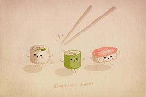 Running Sushi by CarolinVogt