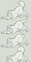 Free Canine Lines by S-Nova