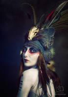 Tribal Portrait VI by Genevieve-Amelia