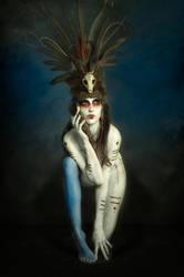 Tribal Portrait VII by Genevieve-Amelia