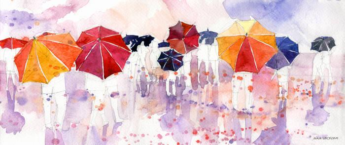 umbrellas by takmaj