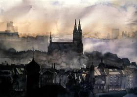 mist in Praha by takmaj