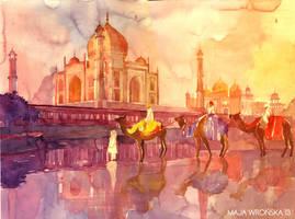 Taj Mahal by takmaj