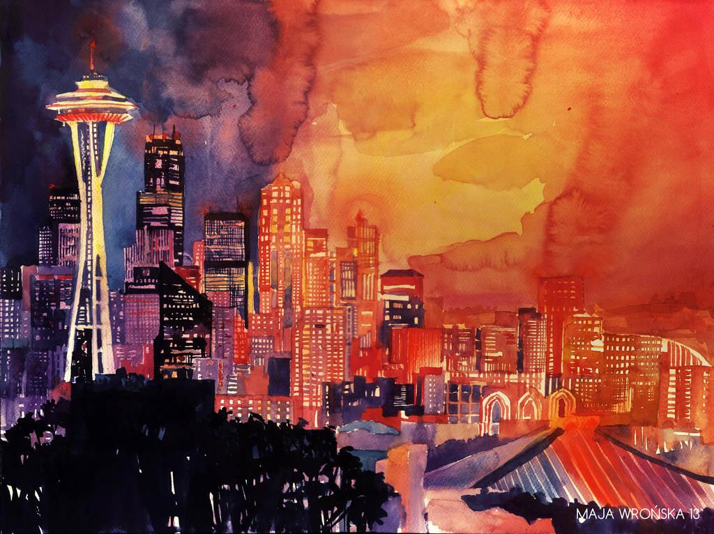 Seattle by takmaj