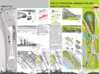 City mountain by takmaj