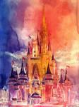 Cinderella Castle by takmaj