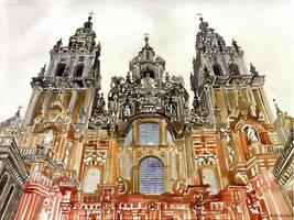 Santiago de Compostela by takmaj
