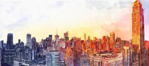 Sunshine in NYC by takmaj