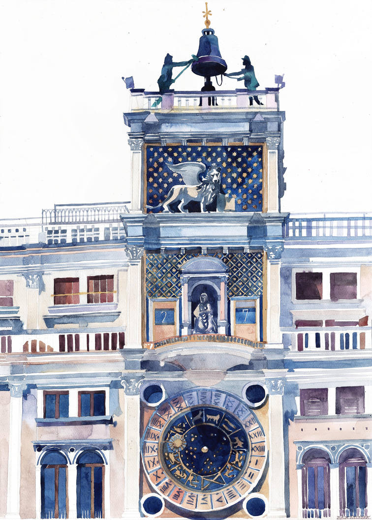 San Marc Clocktower by takmaj