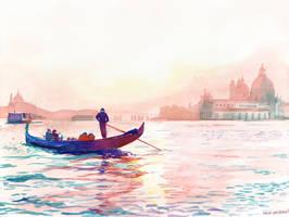 Canale Grande Venezia by takmaj