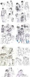 AxK Sketches IV by Kite-d