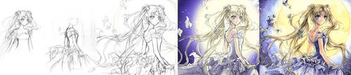 Moonlight Dance_Progress by Kite-d