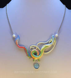 Lucky Dragon Necklace by Gatobob