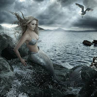 Mermaid_silver by Danapra
