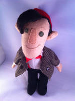 11th Doctor Who Plushie 1 by phooanimates