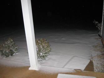 Night snow by darksykkurai