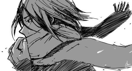 Mikasa-Attack on titan by Seseyaki