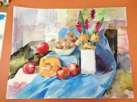 Still life homework by Seseyaki
