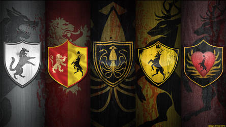 War of the Five Kings Wallpaper by GaryckArntzen
