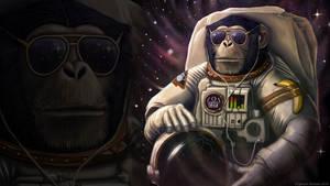 Space Farer Wallpaper by GaryckArntzen