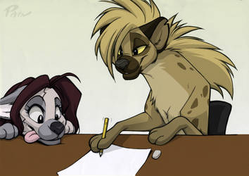 2013 09-27 Tlk Draw Colored by Pain-hyena
