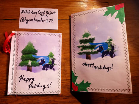 2018 Holiday Card Project! by Gemhunter178