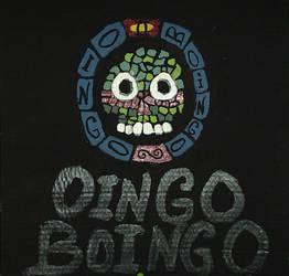 Glow-in-the-dark Oingo Boingo by Zuh-Day