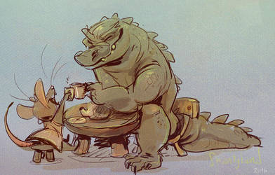 Tea Party by Shantyland