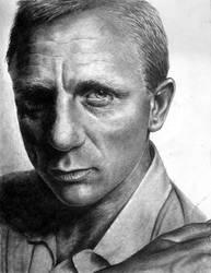 Daniel Craig by Mad-Margaret