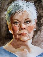 Dame Judi Dench by Mad-Margaret