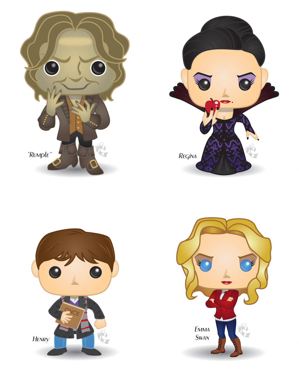 Pop! Once Upon a Time by CBeeProject