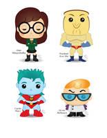 Pop! 1990s Cartoons by CBeeProject