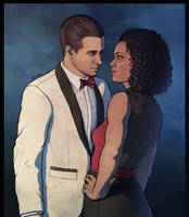 Nadine Ross and Rafe Adler - Uncharted 4 by searoth