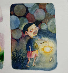 Broken lantern by reya-desu