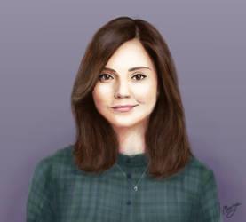 Clara Oswald by lunejaune145