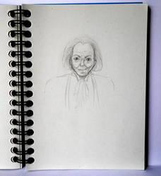 Man (sketch) by lunejaune145