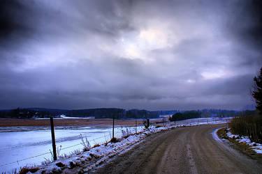 Sorunda in the Winter by stofo