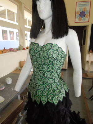 Customized Corset by Mishelley28