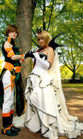 TRC - Sakura-hime and Syaoran by Amapolchen