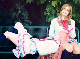 Precure: Kanade and Hibiki by Amapolchen
