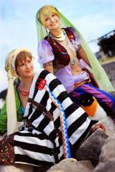 Free! Nagisa and Makoto by Amapolchen
