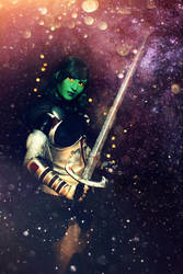 Guardians of the Galaxy : Gamora 8 by Amapolchen