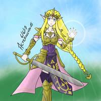 Zelda by Aeternuxolus