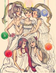 Sailor Senshi by Brontinox